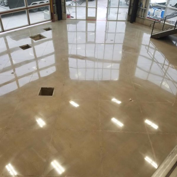 Polished Concrete in St. George, Utah | Silver Crest Corp.