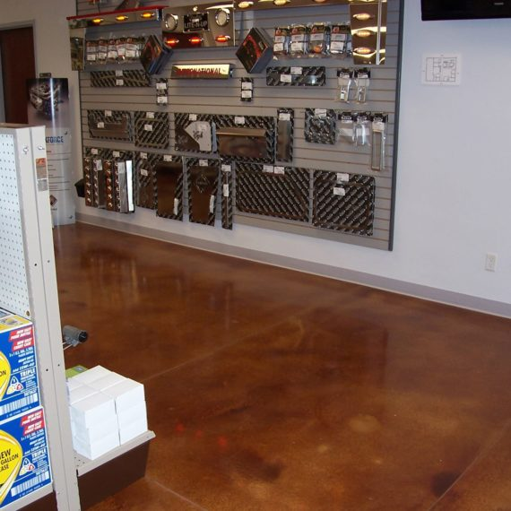 Acid Stain Floors in Idaho Falls, Idaho | Silver Crest Corp.