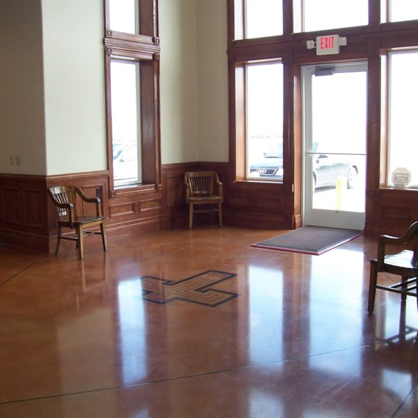 Acid Stain Concrete Floors in American Falls | Silver Crest Corp.
