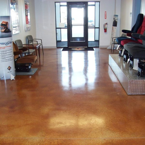 Acid Stain Concrete Floors in Idaho Falls | Silver Crest Corp.