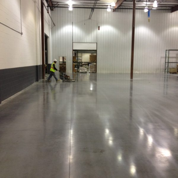 Sealed & Burnished Concrete Floors in Idaho Falls | Silver Crest Corp.