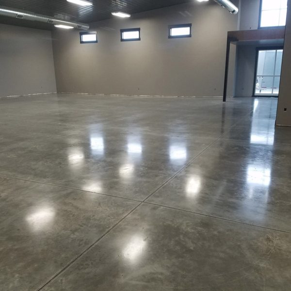Sealed Concrete Floors in Tremonton, Utah | Silver Crest Corp.