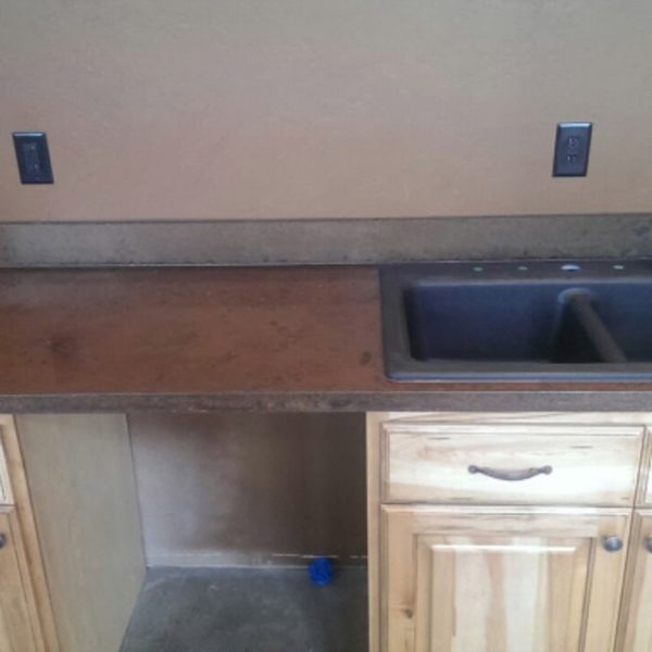 Concrete Countertops in Pocatello, Idaho | Silver Crest Corp