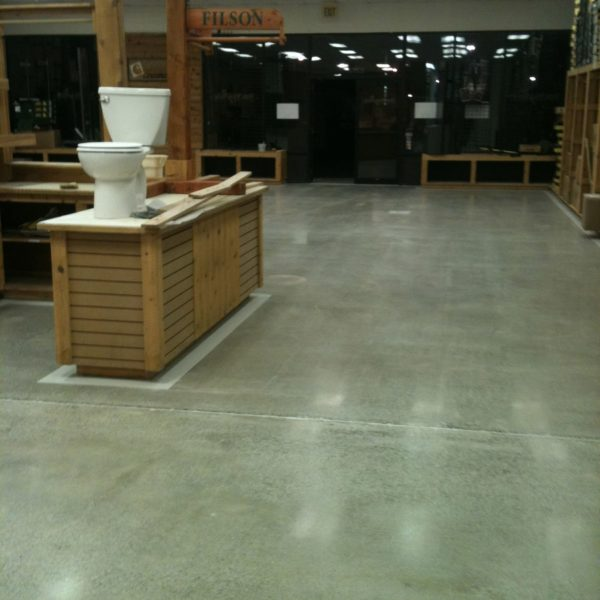 Polished Concrete Floors in Idaho Falls | Silver Crest Corp.