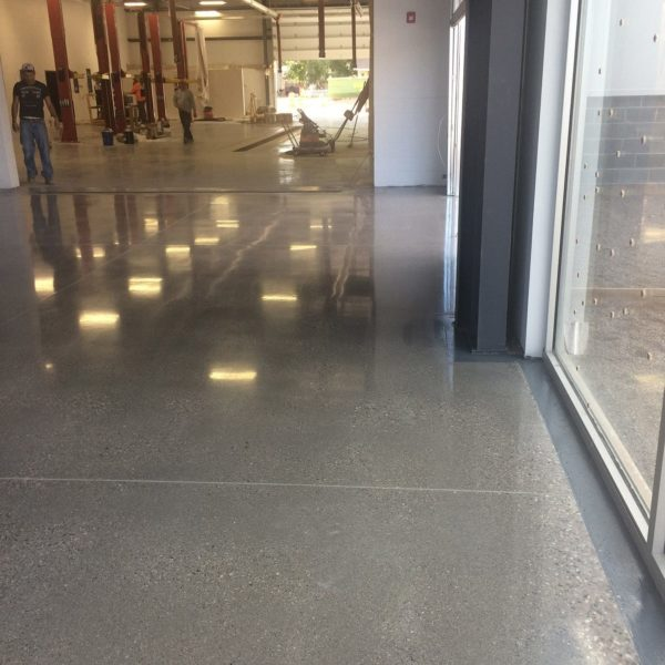 Polished Concrete Floors in Richfield, Utah | Silver Crest Corp.