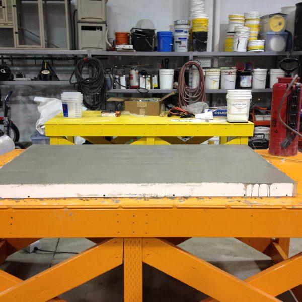 Concrete Table Top in Idaho Falls, Idaho   Silver Crest Corp