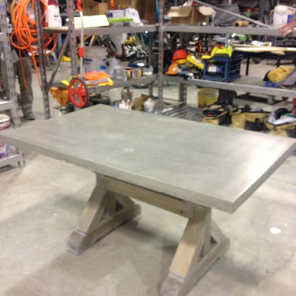Concrete Table Top in Idaho Falls, Idaho | Silver Crest Corp
