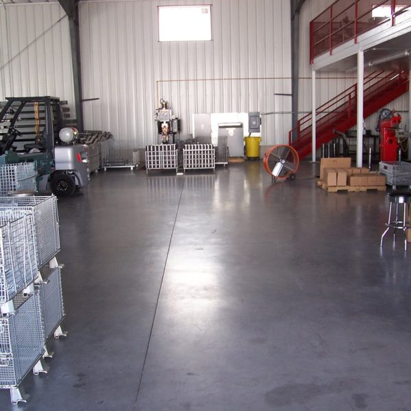 Sealed Concrete Floors in American Falls | Silver Crest Corp.