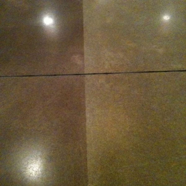 Dyed & Polished Concrete in Rexburg, Idaho | Silver Crest Corp.