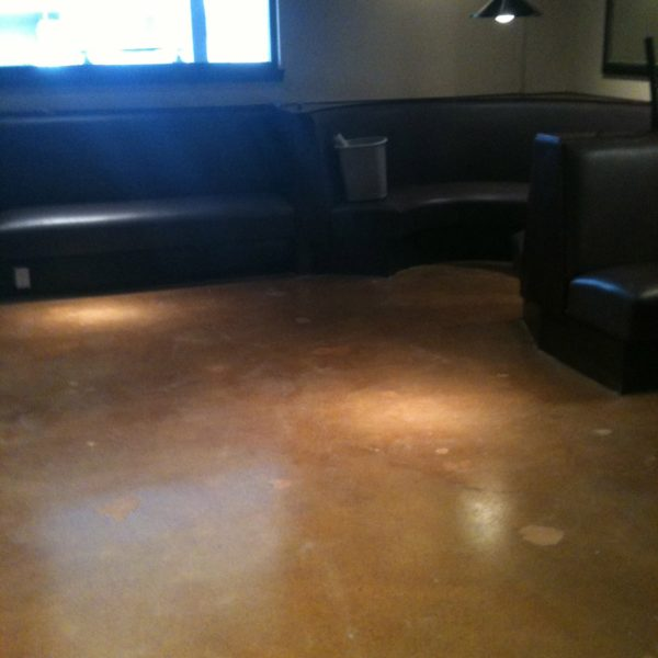 Dyed & Sealed Concrete Floors in Jackson, Wyoming | Silver Crest Corp.