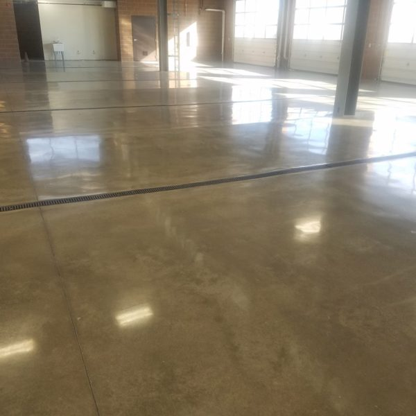 Sealed Concrete Floors in Delta, Utah | Silver Crest Corp.