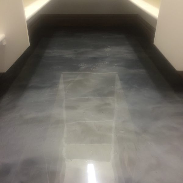 Metallic Epoxy Flooring in Aberdeen | Silver Crest Corp.