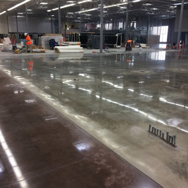 Sealed Concrete Floors in Ammon, Idaho | Silver Crest Corp.
