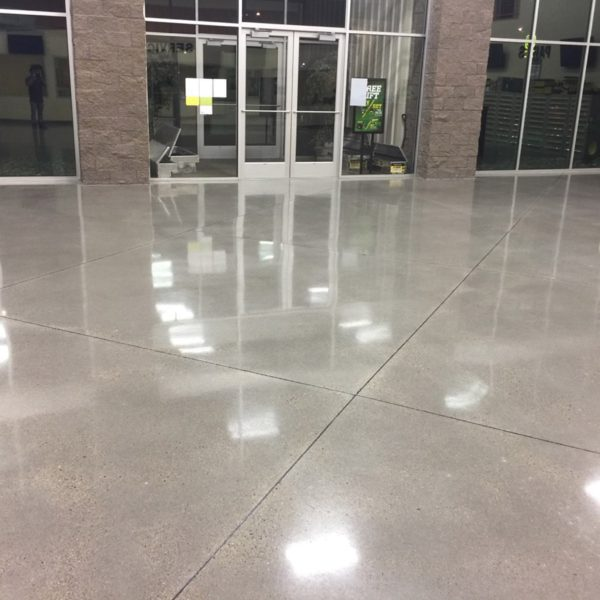 Polished Concrete Floors in Burley, ID | Silver Crest Corp.