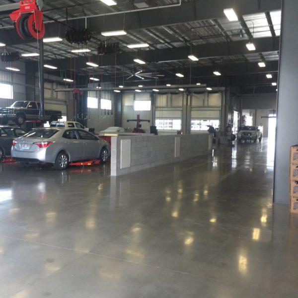 Polished Concrete in Pocatello, Idaho | Silver Crest Corp.