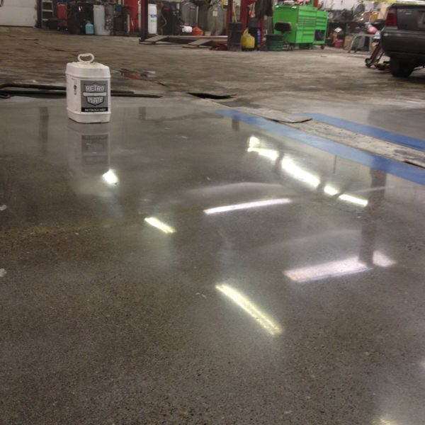 Polished Concrete in Rexburg, Idaho | Silver Crest Corp.