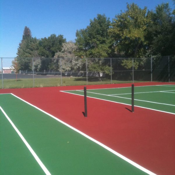 Tennis Court Resurfacing in Idaho Falls | Silver Crest Corp