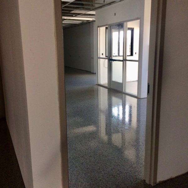 Epoxy Flooring for Fed Ex | Silver Crest Corp.