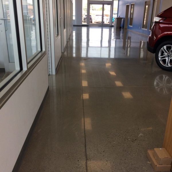 Polished Concrete Floors in Burley, Idaho | Silver Crest Corp.