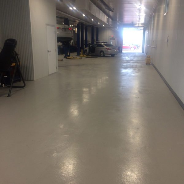 Epoxy Flooring in Pocatello, Idaho | Silver Crest Corp.