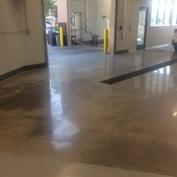 Polished Concrete Floors in Pocatello | Silver Crest Corp.