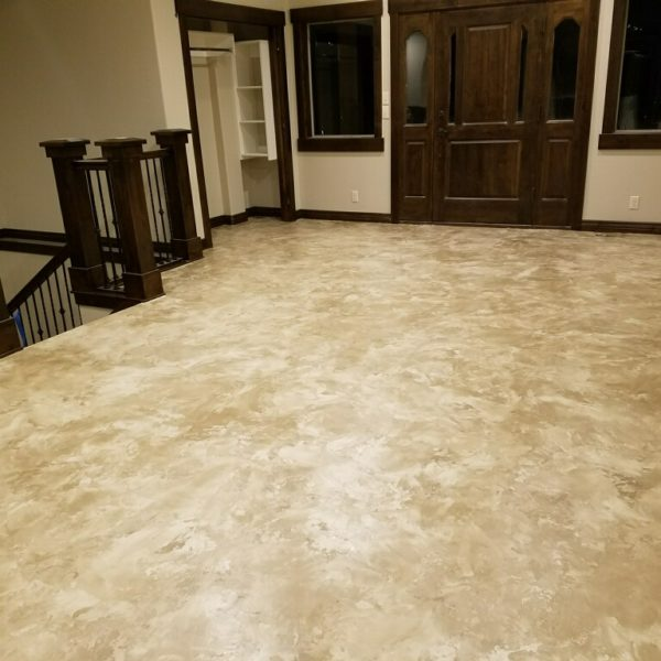 Silver Crest Corp coated concrete floor
