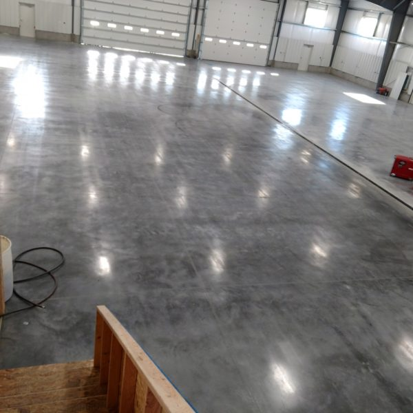 Sealed Concrete in Rexburg, Idaho | Silver Crest Corp.