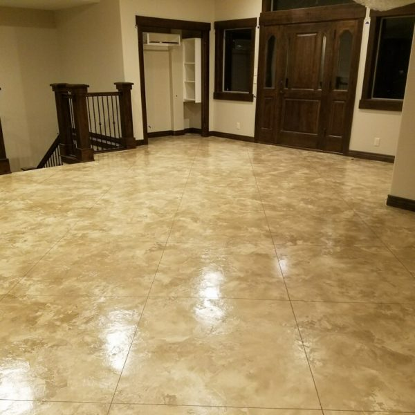 Silver Crest Corp polished concrete floor