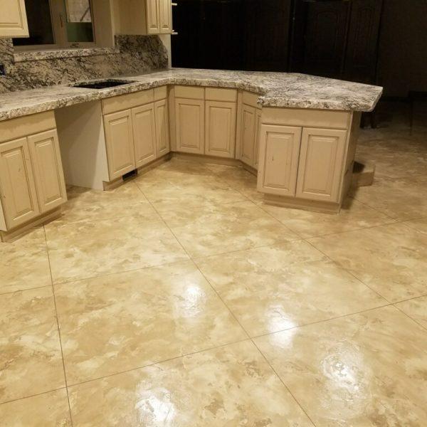 Silver Crest Corp Polished Concrete floor